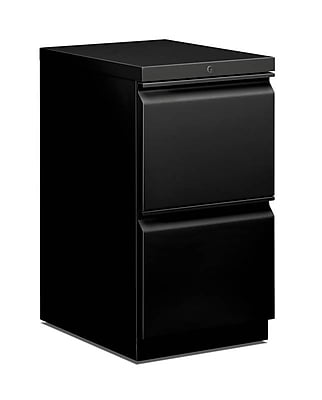 HON 2 Drawer Vertical File Cabinet, Black, 20