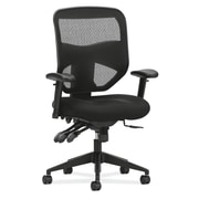 basyx by HON Prominent Mesh Back Polyester/Nanotextile Task Chair, Black (BSXVL532MM10) NEXT2019