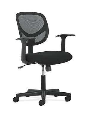 Charmant Sadie Mid Back Task Chair, Fixed Arms (BSXVST102) NEXT2019 NEXT2Day