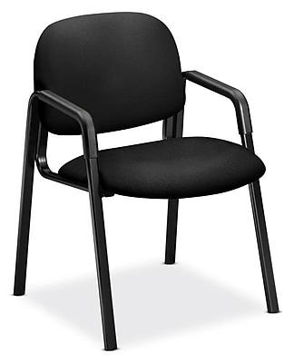 HON Solutions - 4000 Series Fabric Guest Chair, Black (HON4003CU10T)