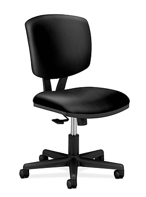 HON Volt Leather Task Chair, Black (H5703.SB11.T) NEXT2019