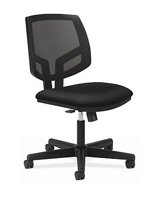 HON Volt Mesh Back Plastic Task Chair, Black (H5713.GA10.T)
