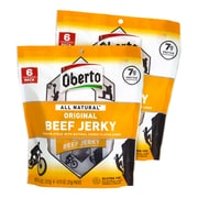Oberto All Natural Beef Jerky, 6 Count, 2 Pack (220-00931)