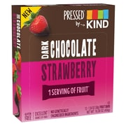 KIND PRESSED Bar, Dark Chocolate Strawberry,  1.34 oz, Pack of 12 (PHW25968)