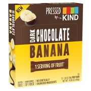 KIND Pressed Bar, Dark Chocolate Banana, 1.34 oz, Pack of 12 (PHW25973)