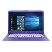 "HP® Stream 14-ax050nr 14"" Notebook, Intel Celeron N3060, 64GB eMMC, 4GB RAM, Windows 10 Home, Intel HD Graphics"