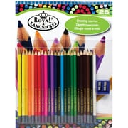 Royal Brush Drawing Artist Pack, Assorted Colors, 26 Pencils per Pack (RTN-106)