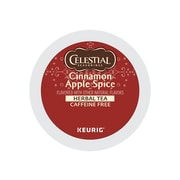 Celestial Seasonings Cinnamon Apple Spice Herbal Tea, Keurig® K-Cup® Pods, 24/Box (6119)
