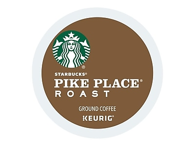 Starbucks Pike Place Coffee, Keurig® K-Cup® Pods, Medium Roast, 40/Box (353578)