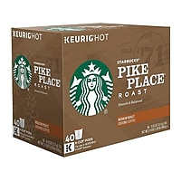 40-Count Starbucks Pike Place Coffee Keurig K-Cup Pods