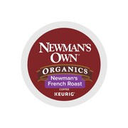 Newman's Own French Roast Coffee, Keurig® K-Cup® Pods, Dark Roast, 24/Box (35339)