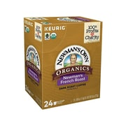 Newman's Own French Roast Coffee, Keurig® K-Cup® Pods, Dark Roast, 24/Box (35339)