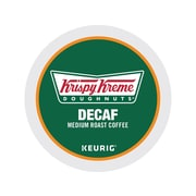 Krispy Kreme Doughnuts Arabica Coffee, Keurig® K-Cup® Pods, Medium Roast, 24/Box (06111)