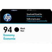 HP 94 Black Ink Cartridge, Economy (D8J34AN)