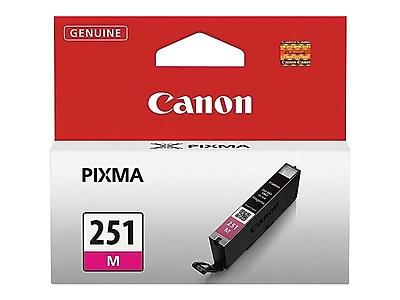 Canon CLI 251M Magenta Ink Cartridge, Standard (6515B001)