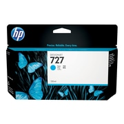 HP 727 Cyan Ink Cartridge, Standard (B3P19A)