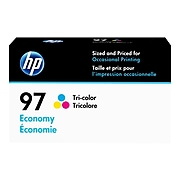 HP 97 Tri-Color Economy Ink Cartridge (D8J32AN)