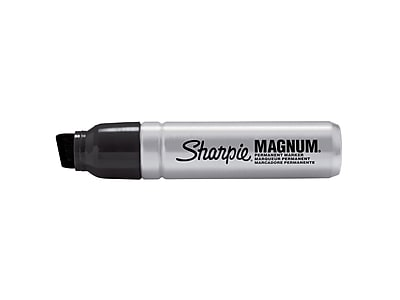Sharpie Magnum Permanent Marker, Chisel Point, Black (44001)