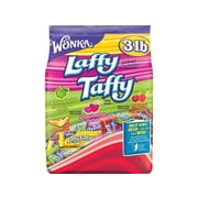 Wonka Laffy Taffy Chewy Candy, Assorted, 48 Oz. (NES13342)