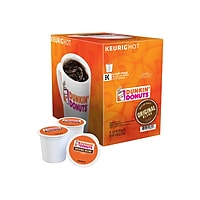 Deals on 24CT Dunkin Donuts Original Blend Coffee Keurig K-Cup Pods