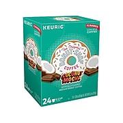 Donut Shop Coconut Mocha Coffee, Keurig K-Cup Pods, Medium Roast, 24/Box (6248)