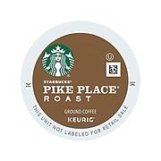 Starbucks Pike Place Coffee, Keurig® K-Cup® Pods, Medium Roast, 96/Carton (09572)