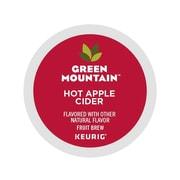Green Mountain Coffee Roasters Hot Apple Cider Fruit Brew Seasonal, Keurig® K-Cup® Pods, 96/Carton (62011)