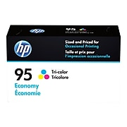 HP 95 Tri-Color Economy Ink Cartridge (B3B23AN)