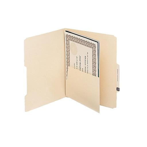 Shop Staples For Smead® Manila Self-Adhesive Folder