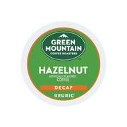 Green Mountain Hazelnut Coffee, Keurig® K-Cup® Pods, Light Roast, 24/Box (7792)