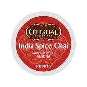 Celestial Seasonings India Spice Chai Black Tea, Keurig® K-Cup® Pods, 24/Box (14738)