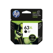 HP 63XL Black Ink Cartridge, High Yield (F6U64AN#140)