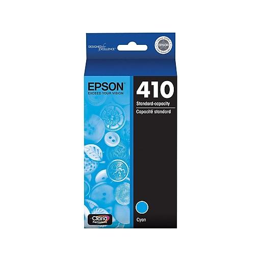 Epson 410 Cyan Ink Cartridge, Standard (T410220-S)