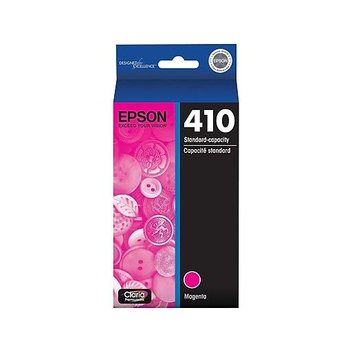Epson 410 Magenta Ink Cartridge, Standard (T410320-S)