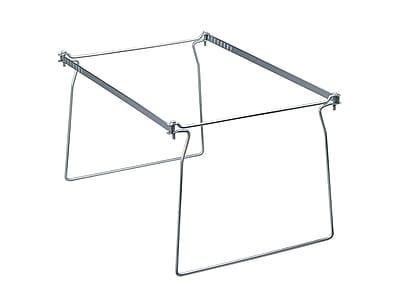 Smead Hanging File Folder Frames, Letter Size, Gray, 2/Pack (64870)