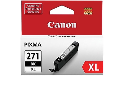 Canon CLI 271XL BK Black Ink Cartridge, High Yield (0336C001)