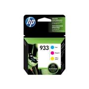 HP 933 Color Combination Ink Cartridges, Standard, 3/Pack (N9H56FN#140)