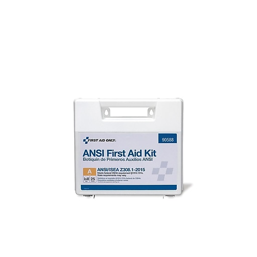 First Aid Only 89 pc. First Aid Kit for 25 (90588)