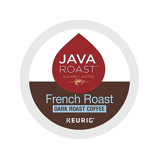 Java Roast French Roast Coffee, Keurig® K-Cup® Pods, Dark Roast, 24/Box (52966)