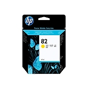 HP 82 Yellow Standard Yield Ink Cartridge (C4913A)
