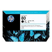 HP 80 Black Standard Yield Ink Cartridge (C4871A)
