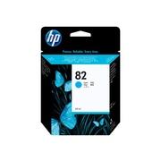 HP 82 Cyan Ink Cartridge, Standard (C4911A)