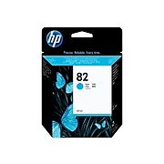 HP 82 Cyan Standard Yield Ink Cartridge (C4911A)