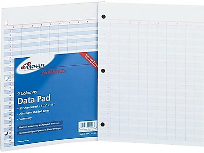 No Ruling White Paper Ampad Scratch Pad,Size 4 x 6 100 Sheets per Pad 21-431