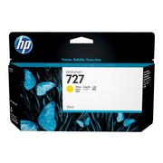 HP 727 Yellow Ink Cartridge, Standard (B3P21A)