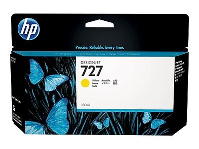HP 727 Yellow Ink Cartridge, Standard (B3P21A)