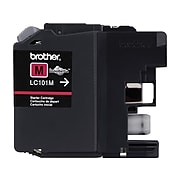 Brother LC101M Magenta Standard Yield Ink Cartridge