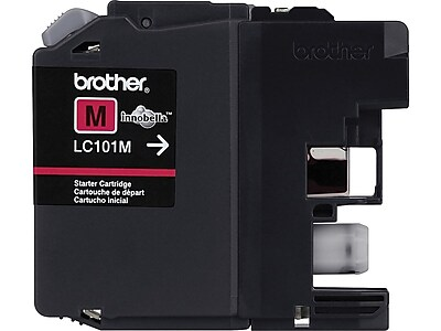 Brother LC 101M Magenta Ink Cartridge, Standard