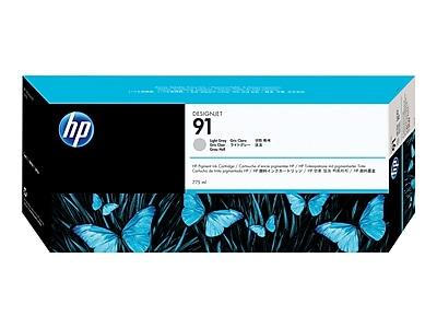 HP 91 Light Gray Ink Cartridge, Standard (C9466A)