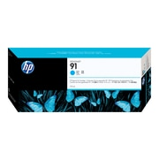 HP 91 Cyan Ink Cartridge, Standard (C9467A)